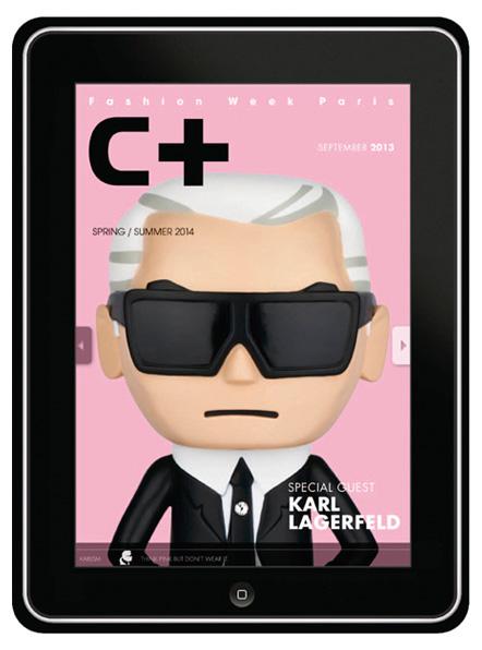 C+ accessoires spécial K LAGERFELD